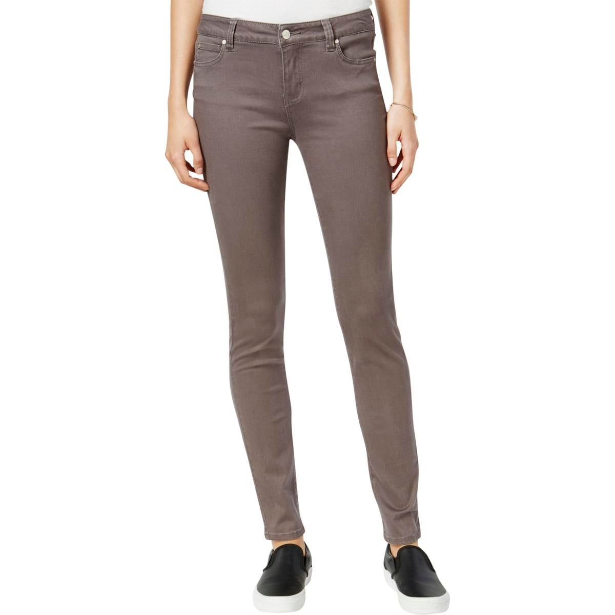 f2cc85813f2 Shop Celebrity Pink Womens Juniors Jayden Skinny Jeans Colored Mid ...