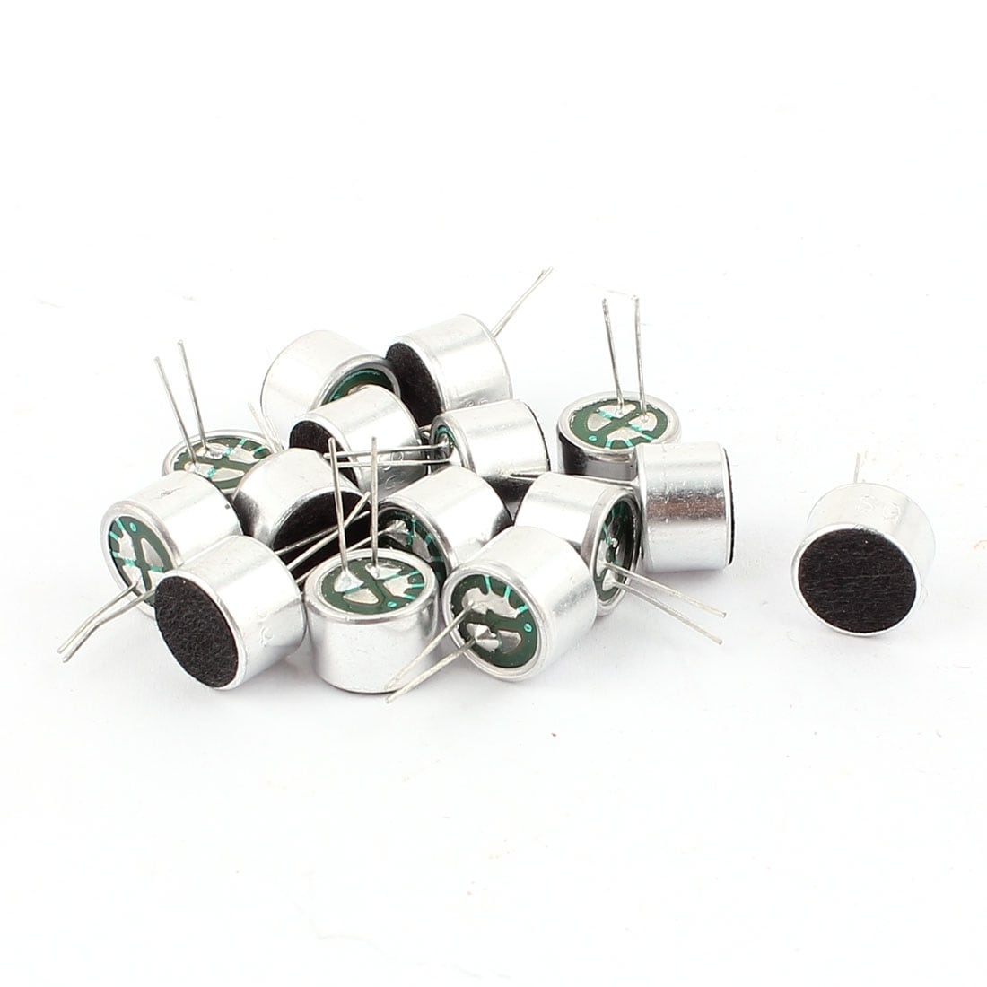Shop 15 Pcs 10mm X 7mm Through Hole Mini Electret Microphone Wiring Condenser Pickup On Sale Free Shipping Orders Over 45 17653176