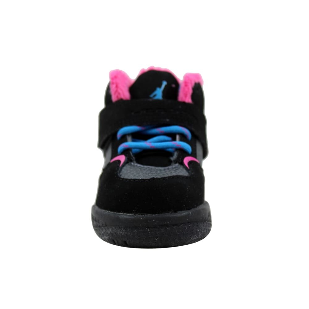 b3e4456e75a Shop Nike Air Jordan Flight 45 TRK TD Black/Dynamic Blue-Dark Grey-Vivid  Pink 467931-008 Toddler - Free Shipping On Orders Over $45 - Overstock -  27600945