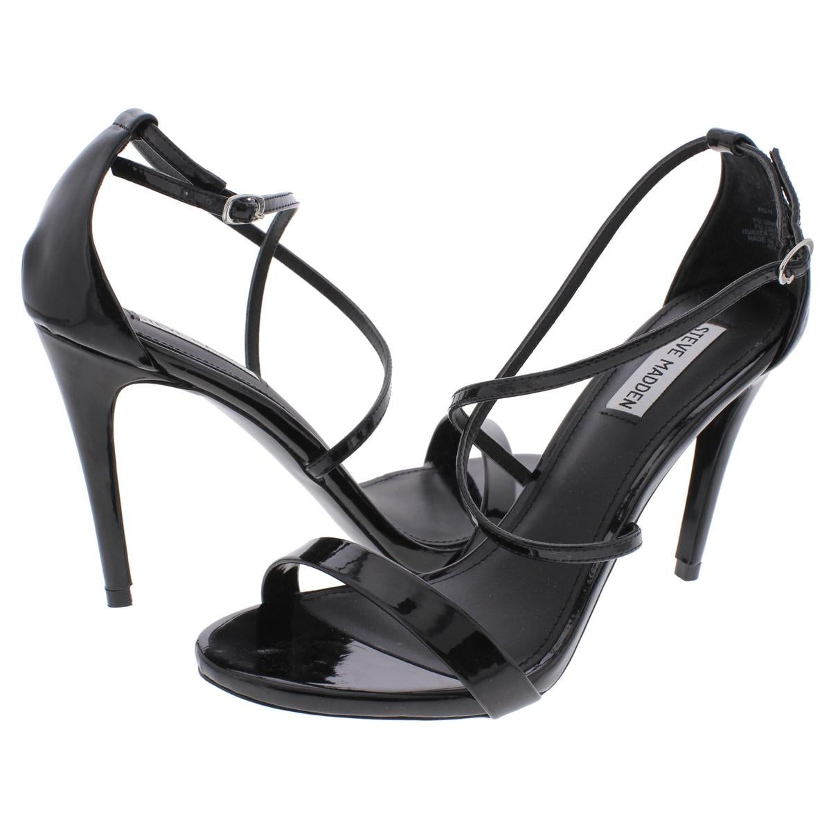 c1e899f3270 Shop Steve Madden Womens Feliz Heels Patent Ankle Strap - Free Shipping On  Orders Over  45 - Overstock - 17063211