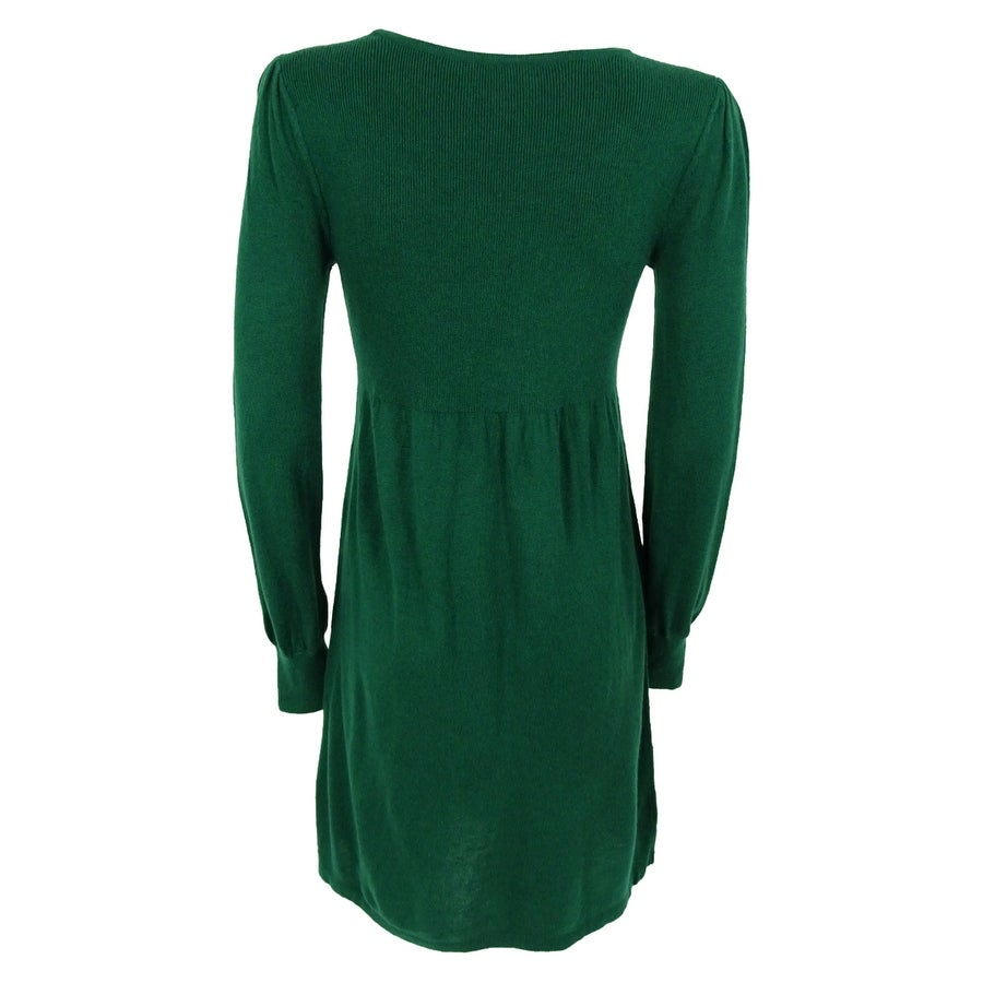 440b7e76255 Shop Spense Women s Long Sleeve Ribbed Sweater Dress - On Sale - Free  Shipping Today - Overstock - 14812451