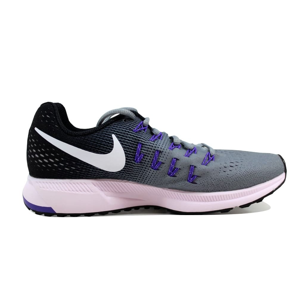 5181e62dc96ce Shop Nike Women s Air Zoom Pegasus 33 Dark Grey Pink Blast-Black-Cool Grey  831356-003 Size 6 - Free Shipping Today - Overstock - 21141951