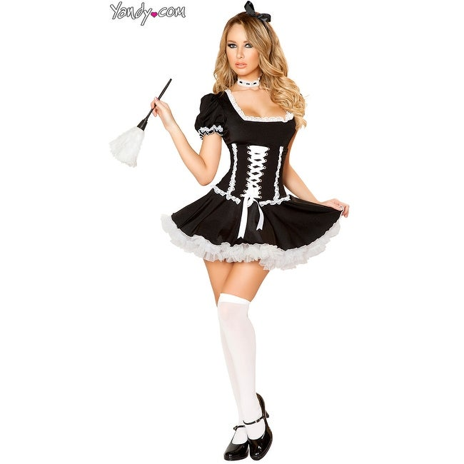 570ba250bdd Shop Fifi French Maid Costume - As Shown - Free Shipping Today - Overstock  - 17826381