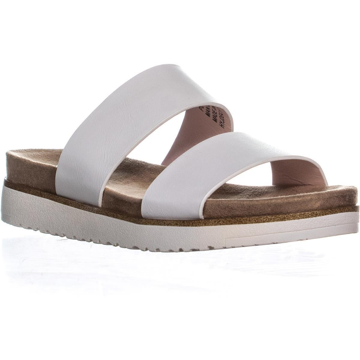 7194ed77adf Shop XOXO Dylan Flat Slide Two Strap Sandals