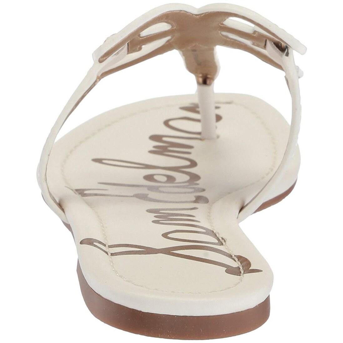 e68861051 Shop Sam Edelman Women s Carter Flat Sandal - Free Shipping Today -  Overstock - 25559789