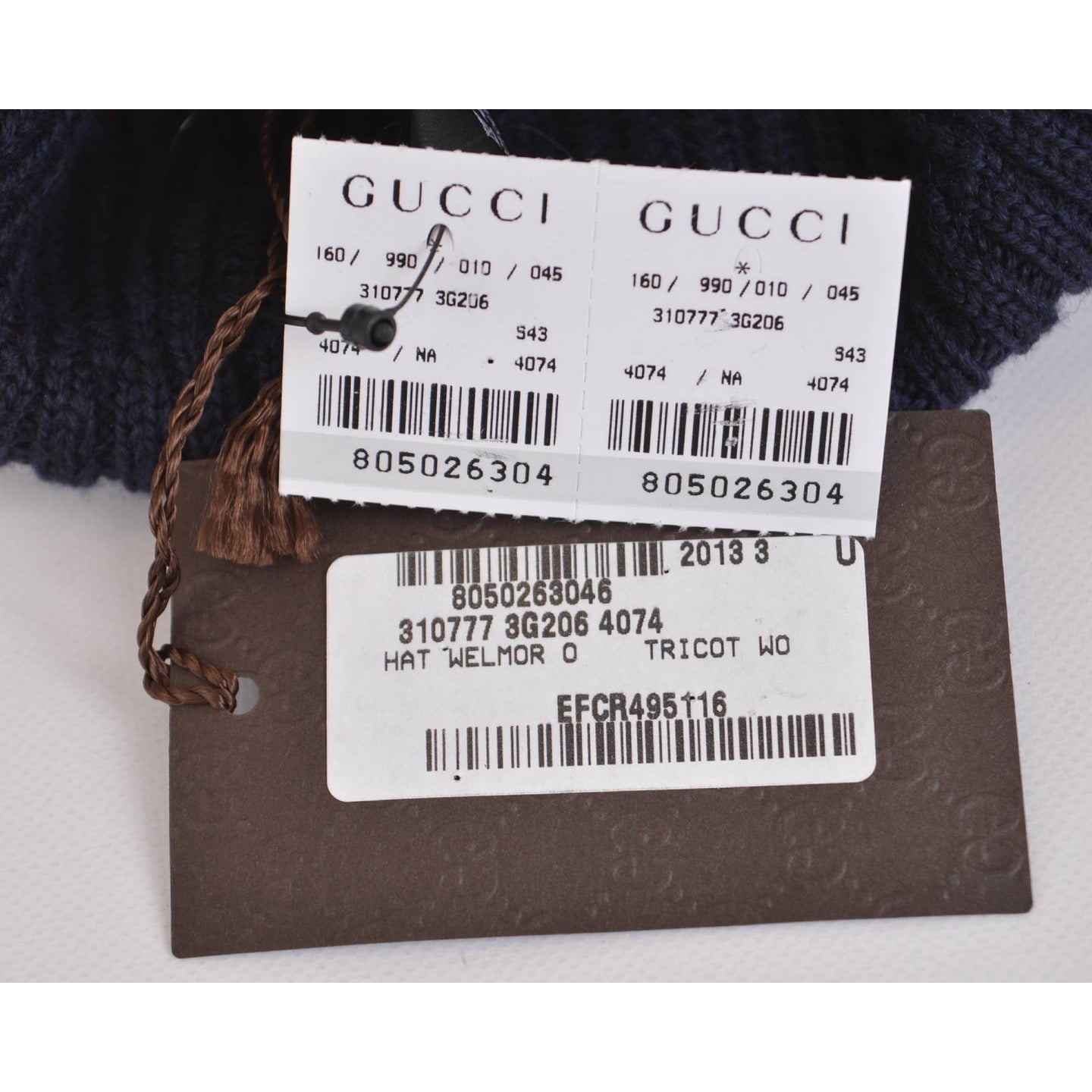 c51dc17a Shop Gucci Men's 310777 Wool Blue Red Interlocking GG Baggy Beanie Ski Hat  - Ships To Canada - Overstock - 12058433