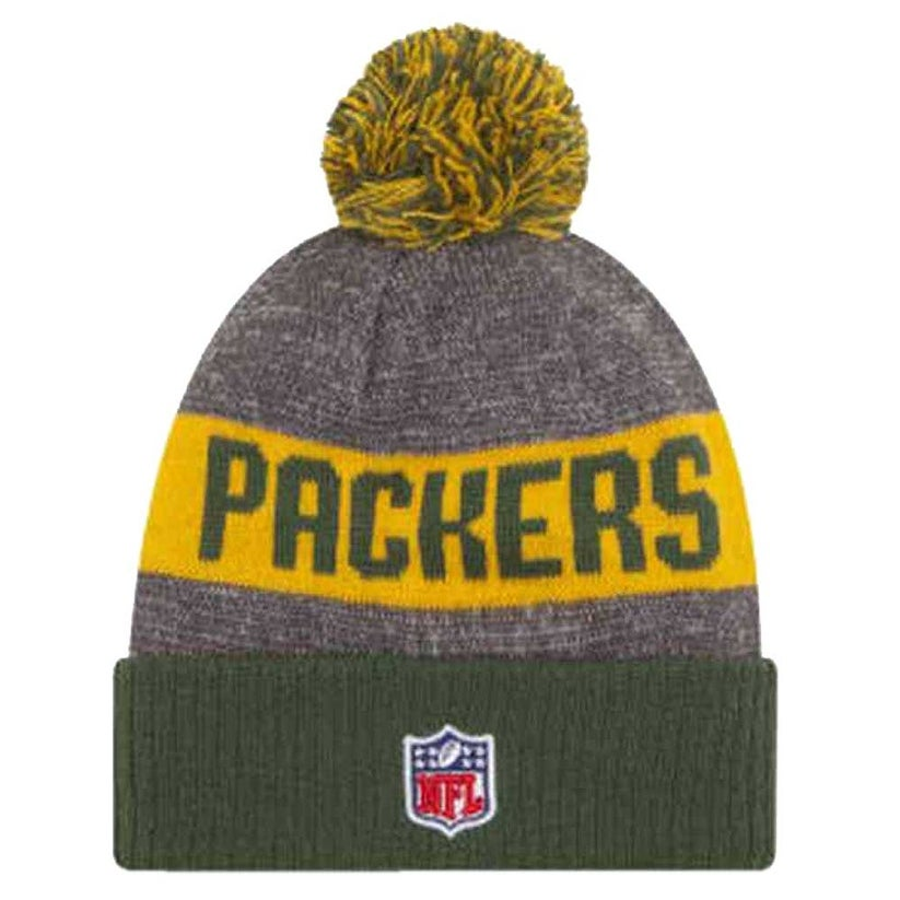 Shop New Era Green Bay Packers Beanie Sideline Knit Cap Hat NFL Team Sport  11289170 - Free Shipping On Orders Over  45 - Overstock.com - 17743887 e48f2fdfd