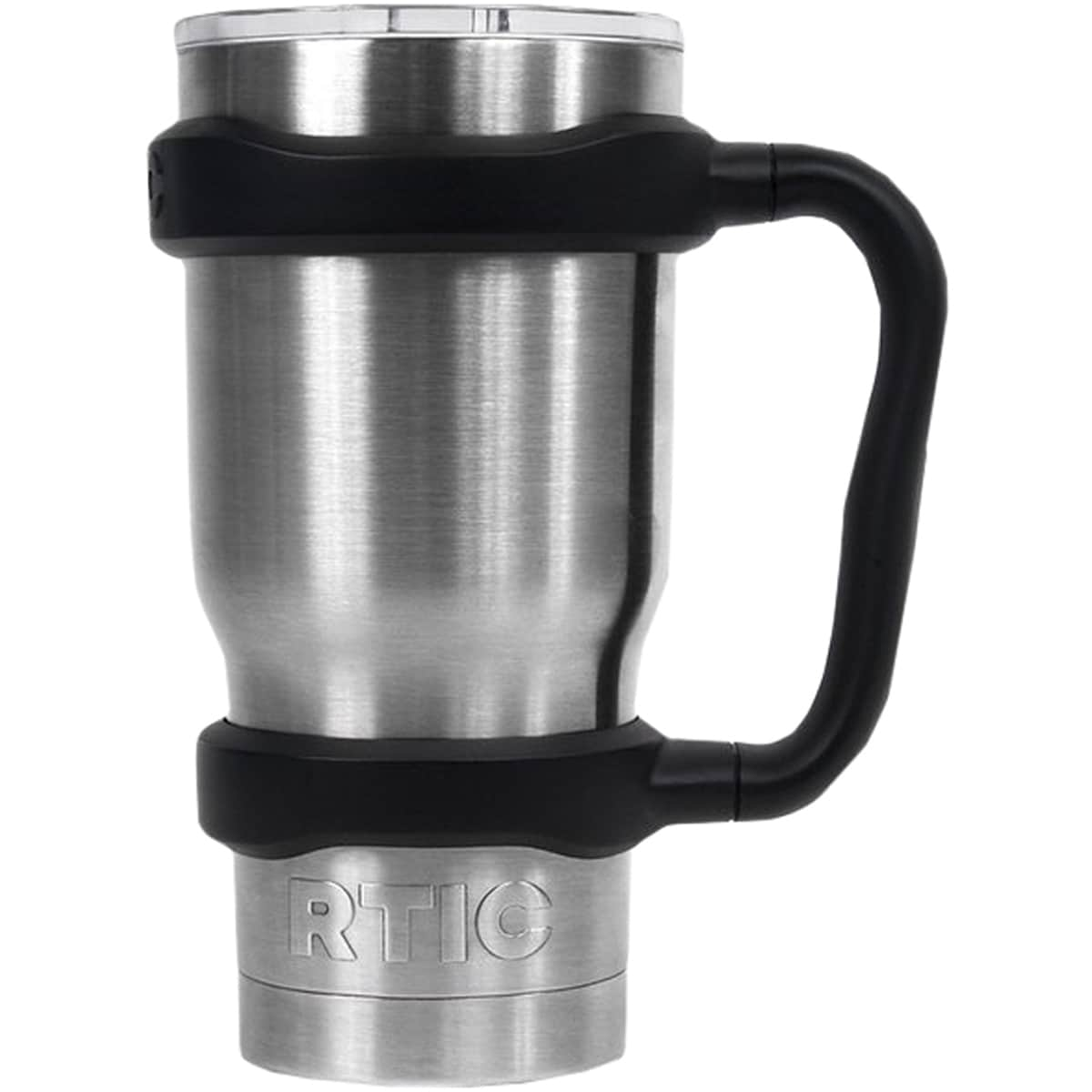 d172003b5dd Shop RTIC Coolers 20 oz. Tumbler Bottle One Piece Mug Handle - Black - 20 oz.  - Free Shipping On Orders Over $45 - Overstock - 16073389