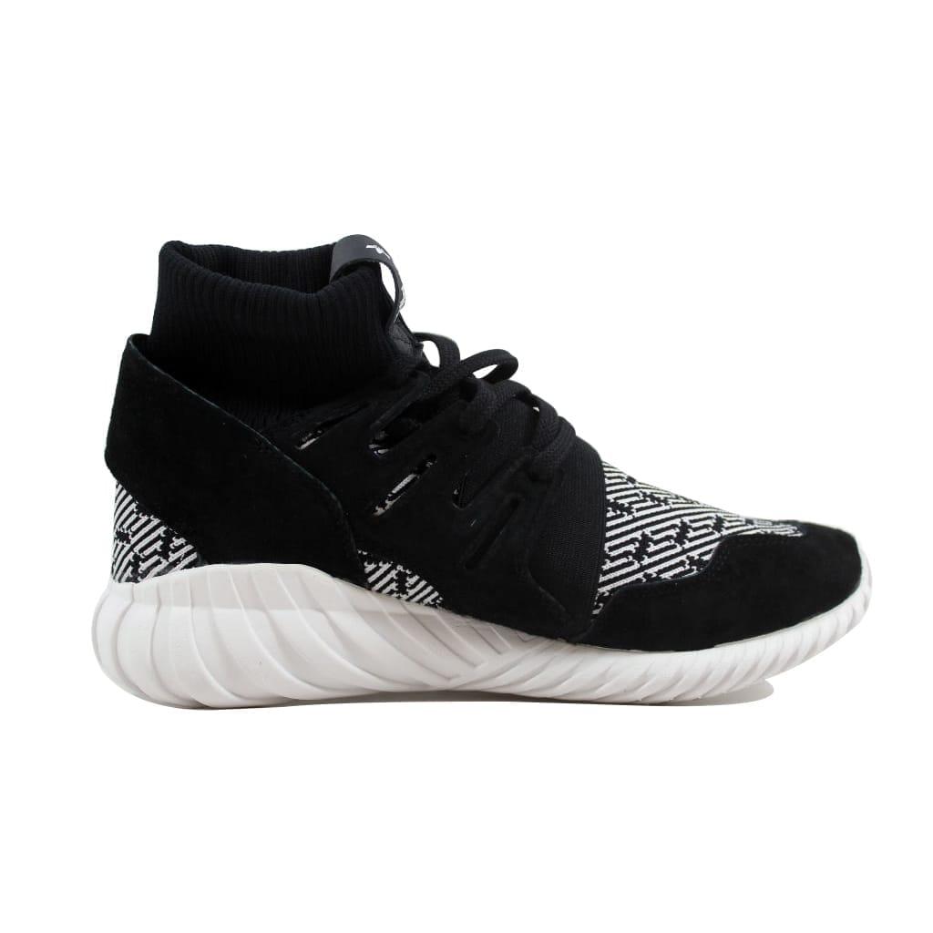 9dc2b0af0290 Shop Adidas Men s Tubular Doom Black Black-White S80096 - Free ...