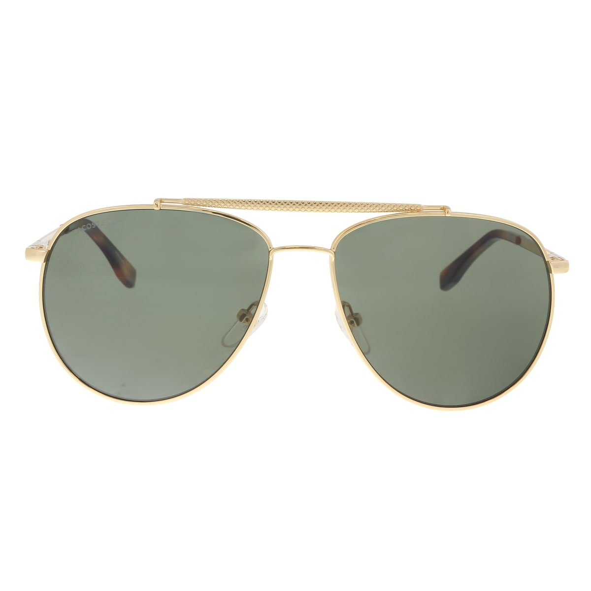 1a4eb8376d2bc Shop Lacoste L177S 714 Gold Aviator Sunglasses - 57-15-140 - Ships To  Canada - Overstock - 20005122