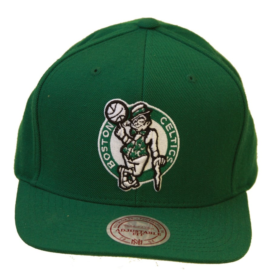 437847af0d2 Shop Mitchell   Ness Boston Celtics NBA Snapback Hat - Green - Free  Shipping On Orders Over  45 - Overstock - 16948109