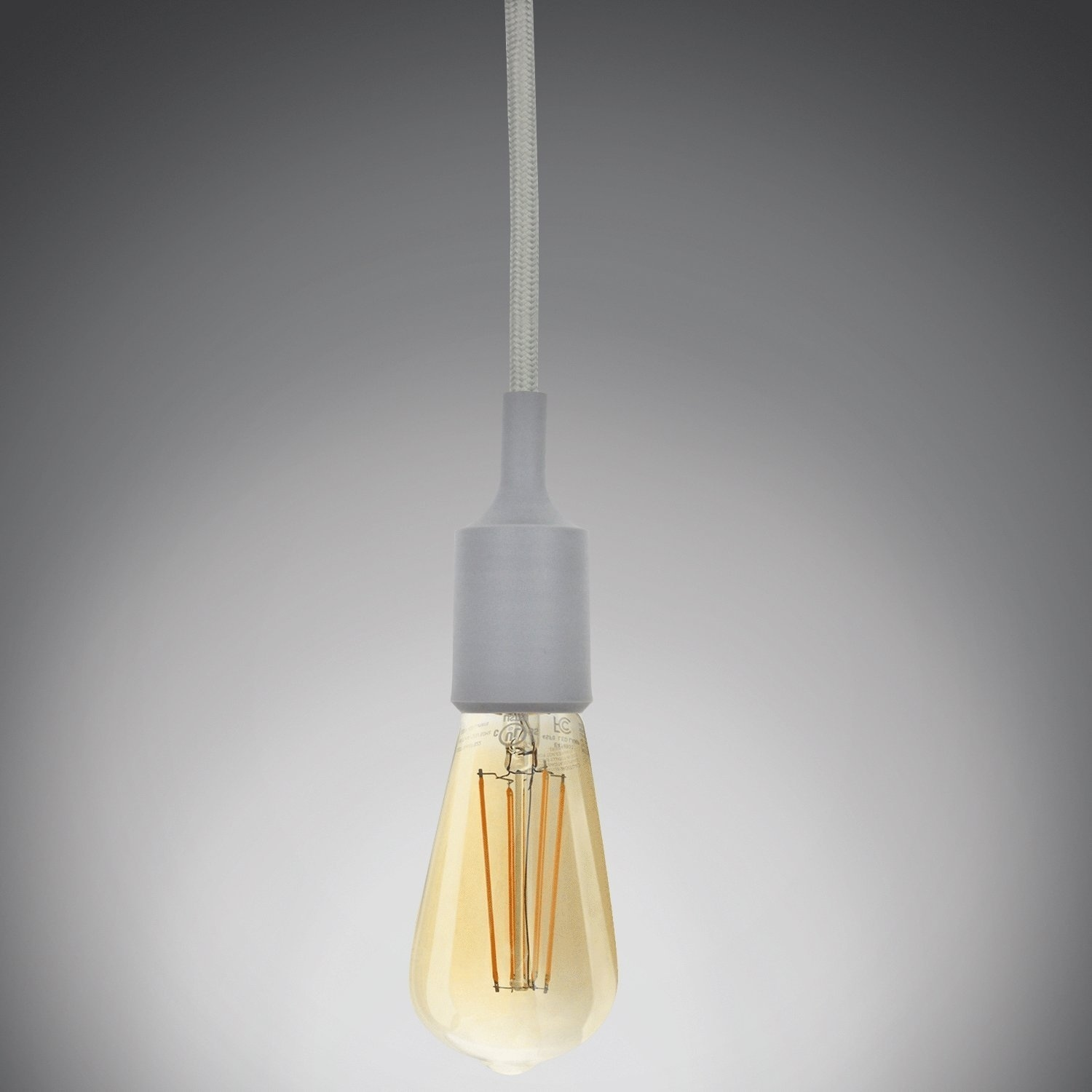 Shop UL-listed Single Socket Pendant Light Fixture (Multi-color ...