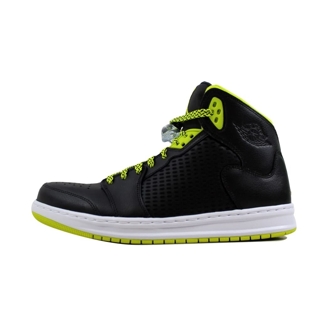 promo code 239f3 cef1e Shop Nike Men s Air Jordan Prime 5 Black Venom Green-Black-White 429489-013  Size 11 - Free Shipping Today - Overstock - 21893560