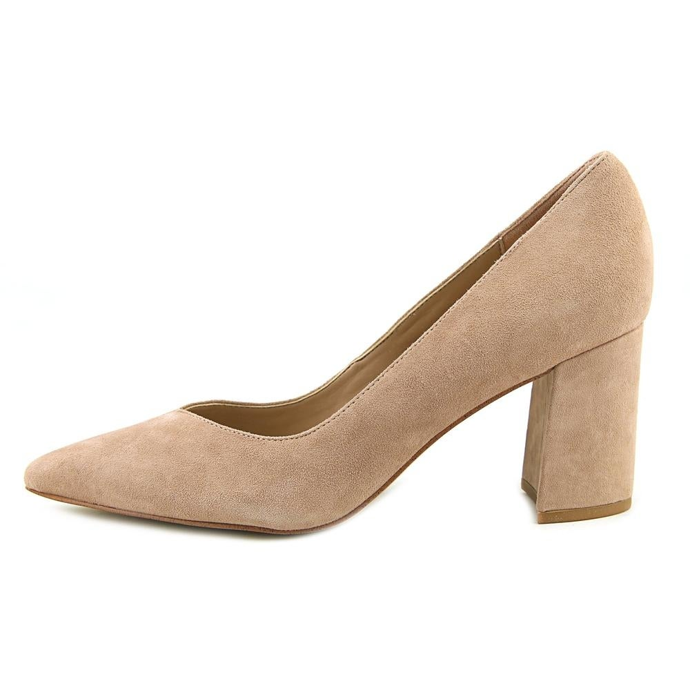 16724b1f8f9f Shop Marc Fisher Caitlin Women Pointed Toe Suede Pink Heels - Free Shipping  Today - Overstock - 19668954