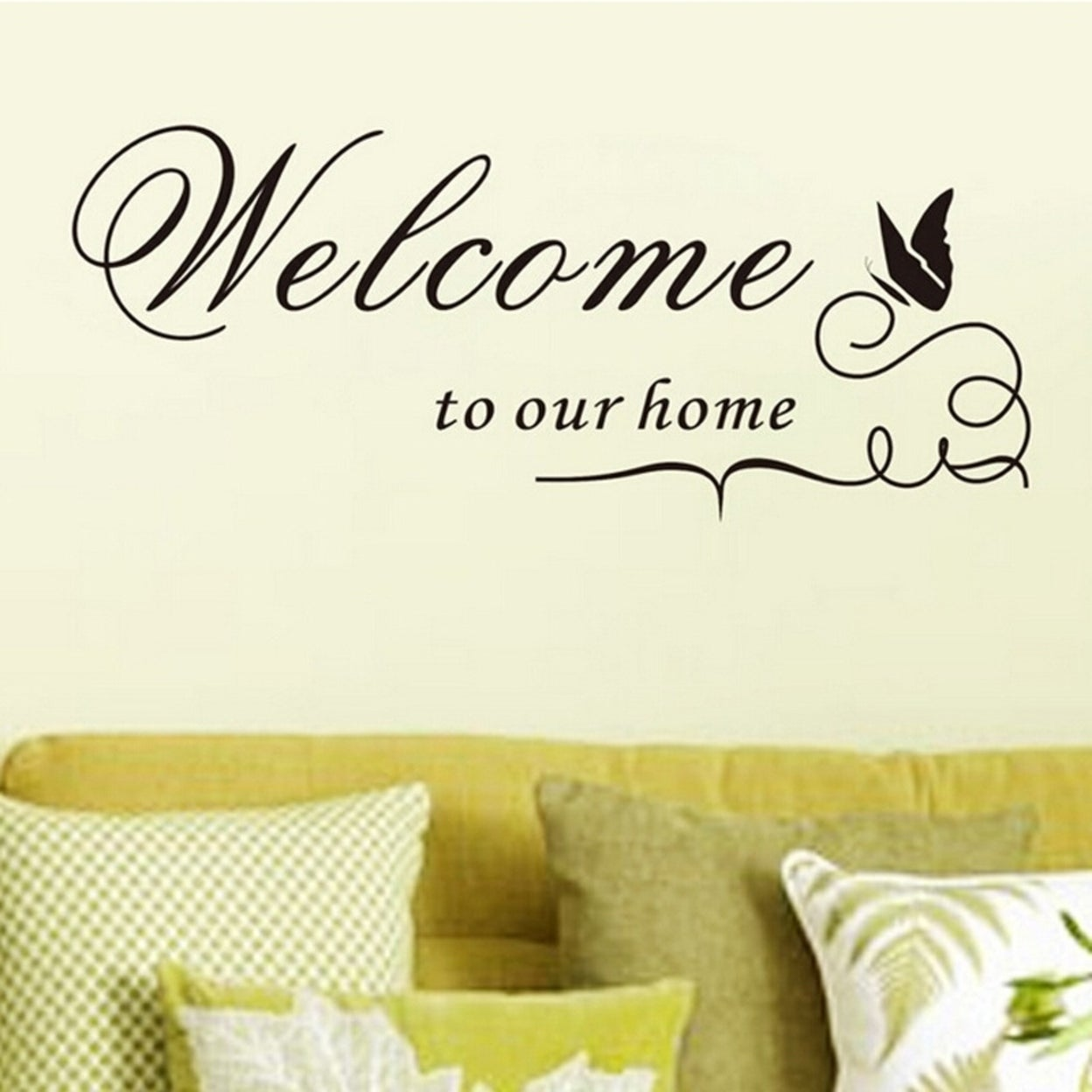 Shop Family Removable DIY Art Vinyl Quote Wall Stickers - Welcome to ...