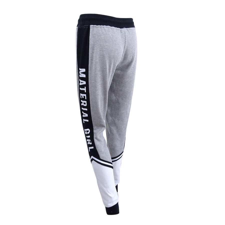8182c9172ec76 Shop Material Girl Active Women's Colorblocked Logo Sweatpants - Free  Shipping On Orders Over $45 - Overstock - 22251180