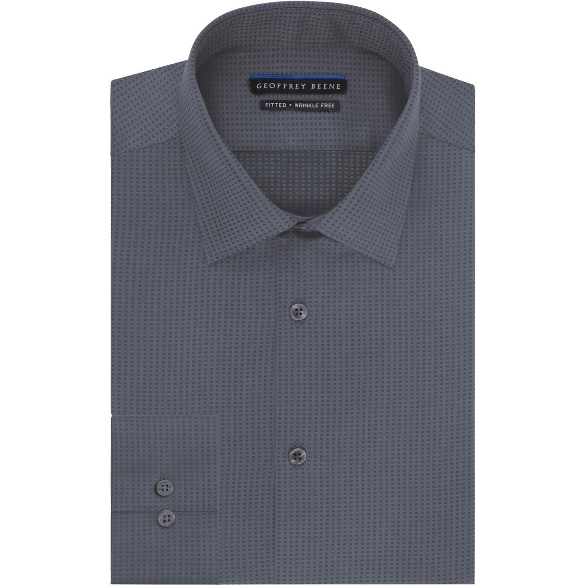 Shop Geoffrey Beene Mens Dress Shirt Shadow Stripe Classic Fit