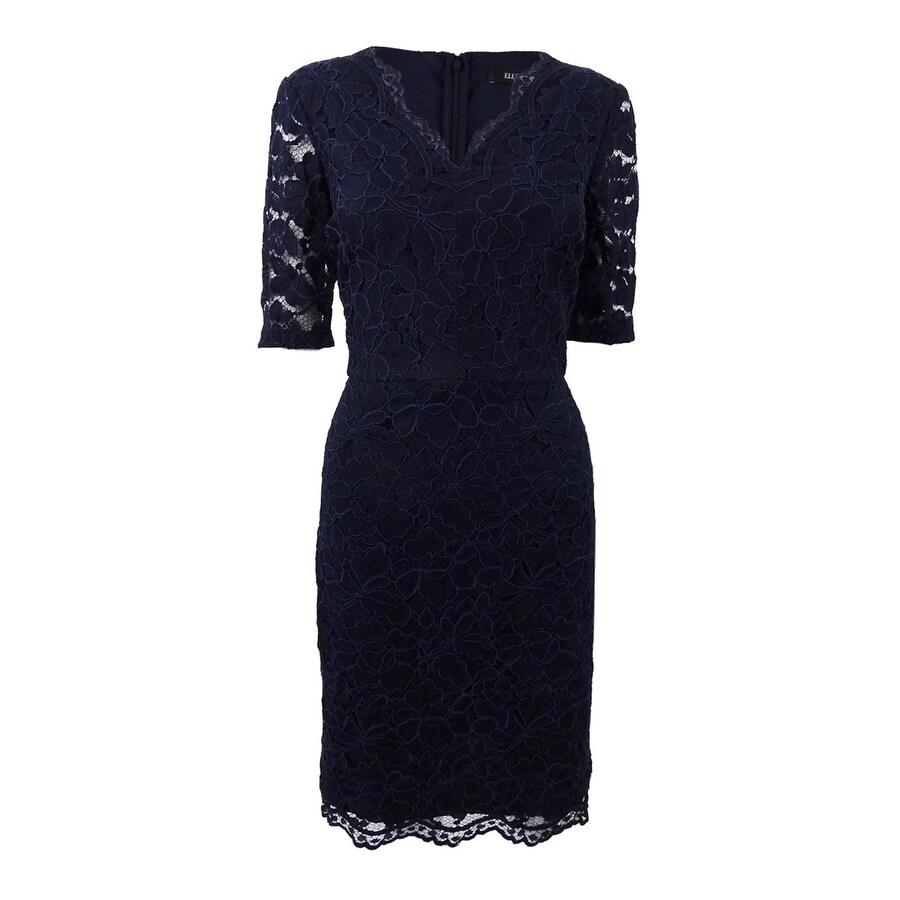 26b92c21028c Short Sleeve Lace Sheath Dress   Huston Fislar Photography