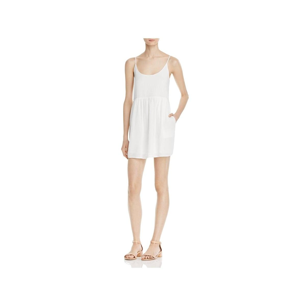 a09eefa06c540 Soft Joie Womens Vadim Mini Dress Linen Pleated - xs
