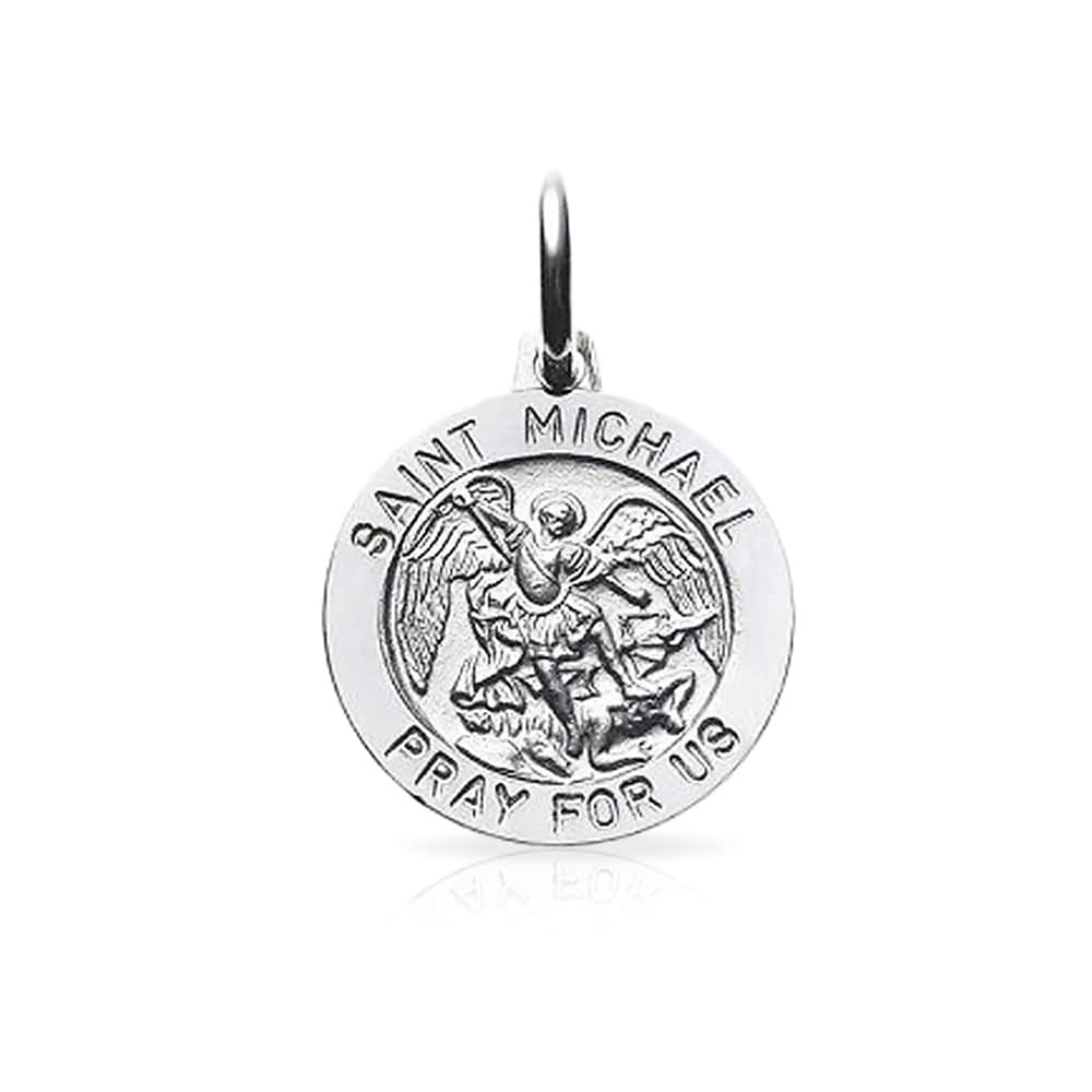 pendant christopher sterling in silver st michaels