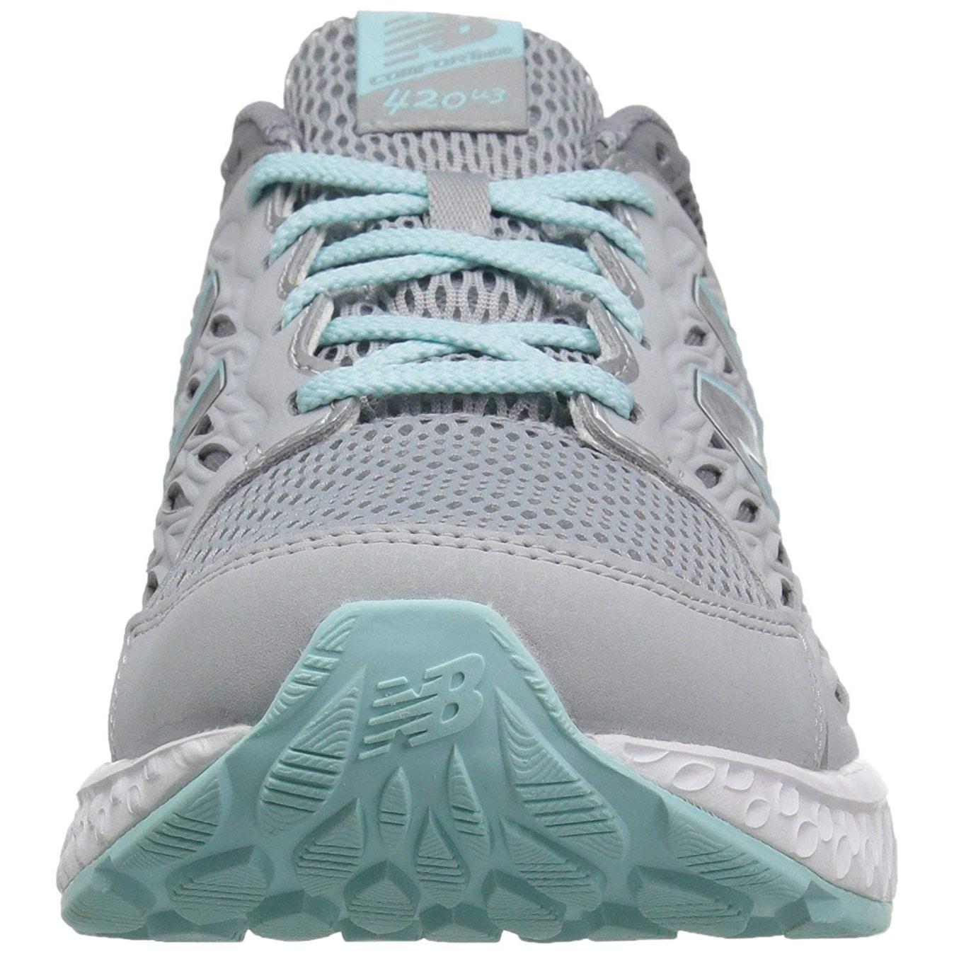 New Balance Women's W420v3 Running Shoe, Silver MinkGunmetalOzone Blue Glow 7.5 M Us