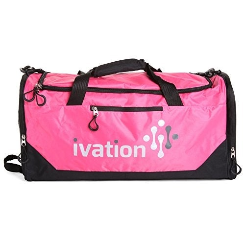 Shop Sports Gym Duffel Bag 100% Water Repellent Polyester Ideal for Gym  Fitness Camping Track Traveling   More - Free Shipping On Orders Over  45  ... 443cc1c5ca461