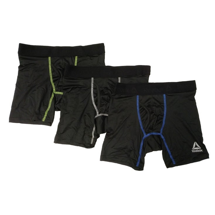 2a199b5225723 Reebok Mens Performance Boxer Briefs - 3 pack
