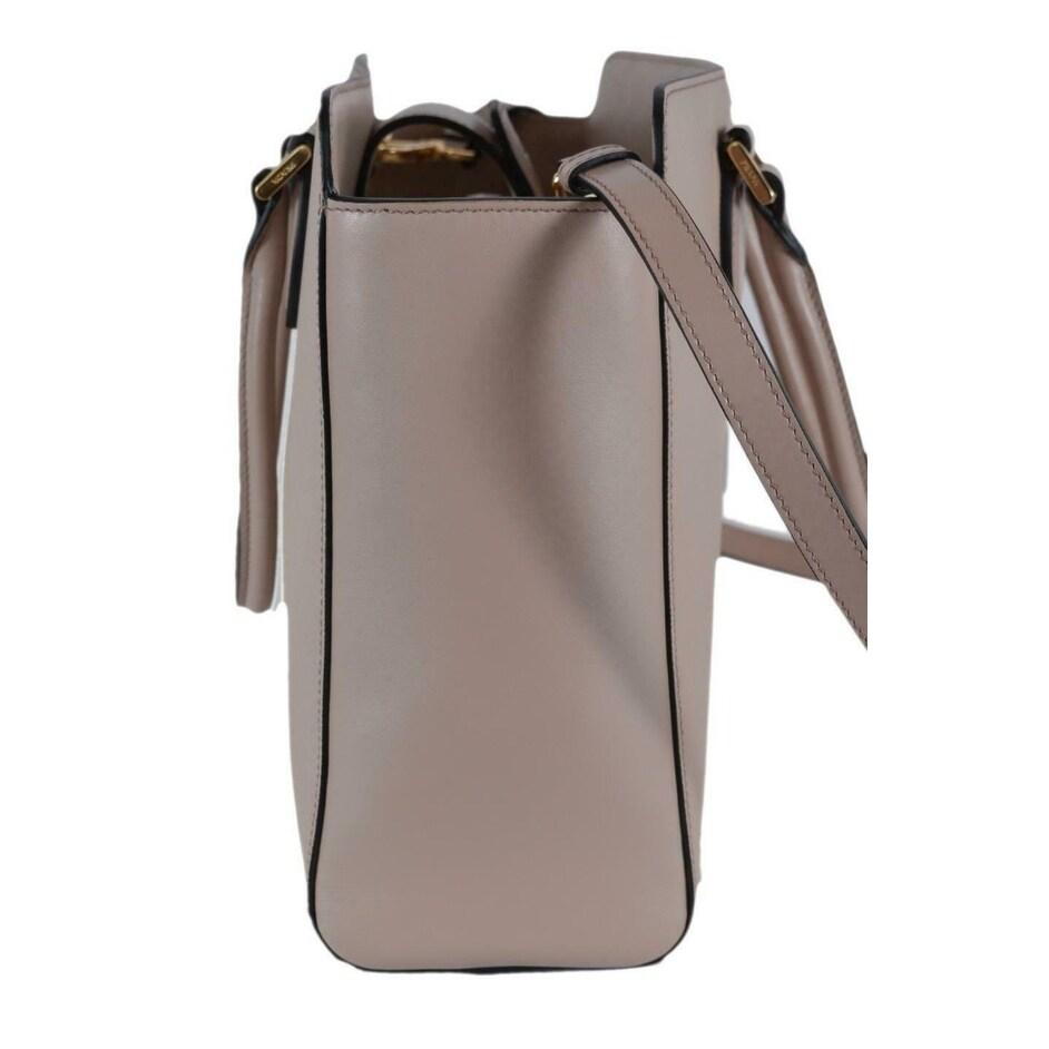 5ea7598fecc8 Shop Prada 1BA189 Borsa A Mano Cipria Pink Saffiano Leather 2-Way Purse  Tote Bag - Free Shipping Today - Overstock - 27459793