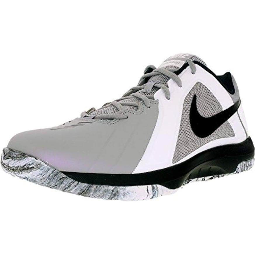 8f8f39bd002d7 Nike Men's Air Maven Low Basketball Shoe Wolf Grey/Black/Pure Platinum Size  8.5 M US
