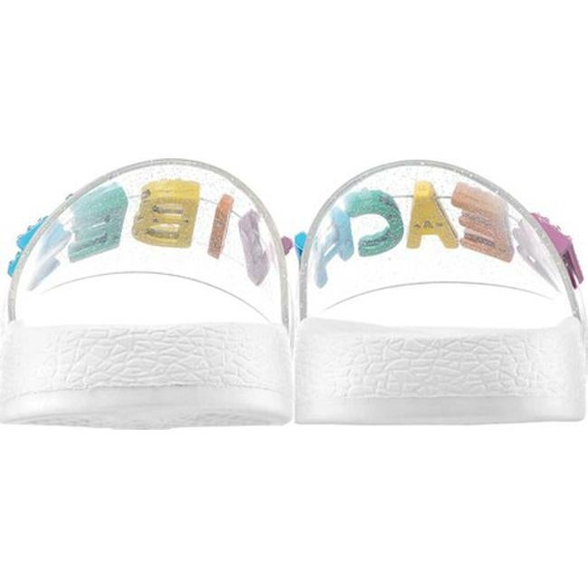 0e3b3d7980b6 Shop Nina Girls  Dominga Slide Clear Jelly Glitter Synthetic - Free  Shipping On Orders Over  45 - Overstock - 27347884
