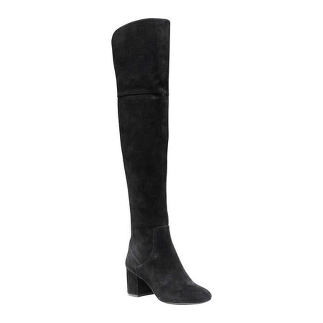 43ae3fe4a96 Shop Cole Haan Women s Raina Grand Over The Knee Boot II Black Suede - Free  Shipping Today - Overstock - 17997332
