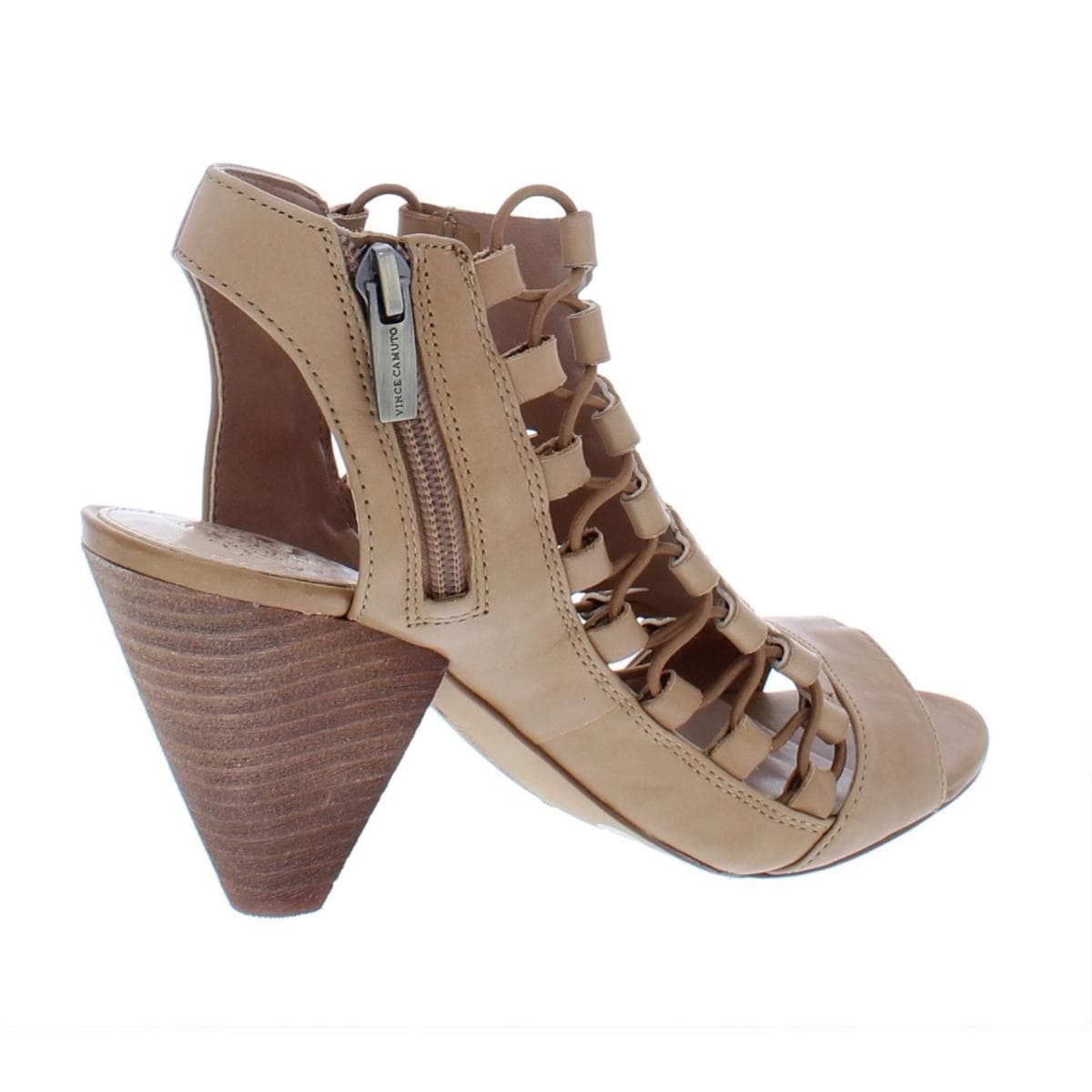 f01ea886526 Shop Vince Camuto Womens Eliaz Dress Sandals Leather Caged - Free Shipping  Today - Overstock - 25358413