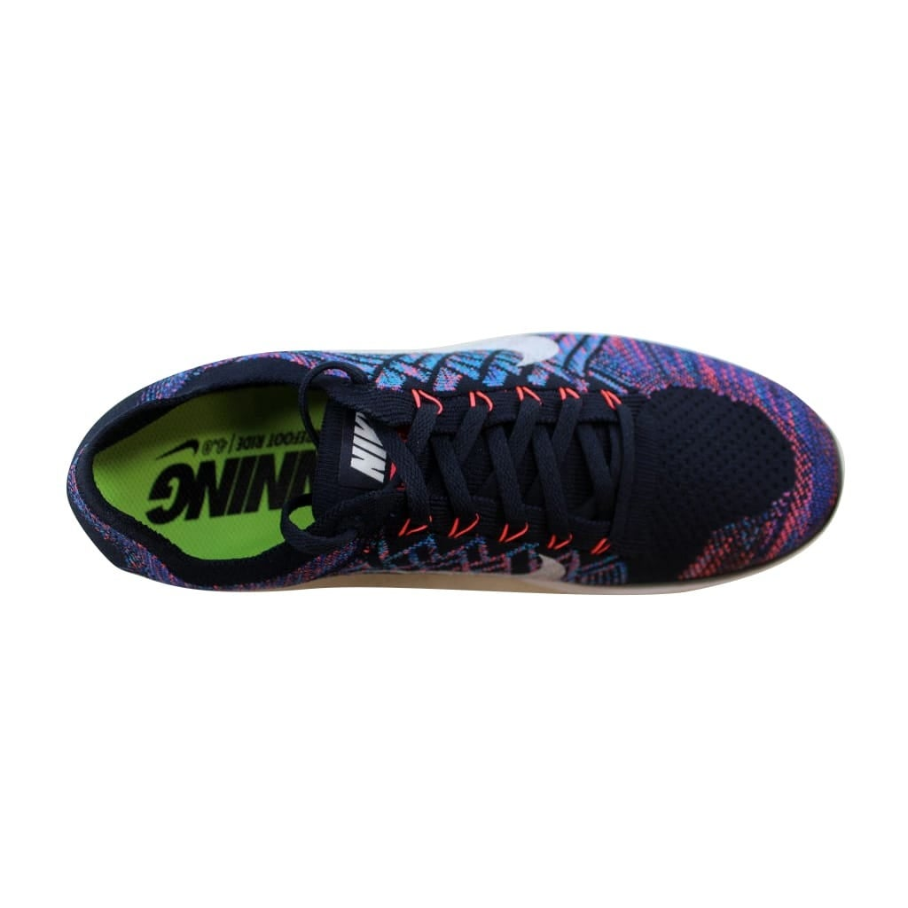 a48c3597f502b Shop Nike Men s Free 4.0 Flyknit Dark Obsidian Summit White-Hot Lava nan  717075-401 Size 12 - Free Shipping Today - Overstock - 22919435