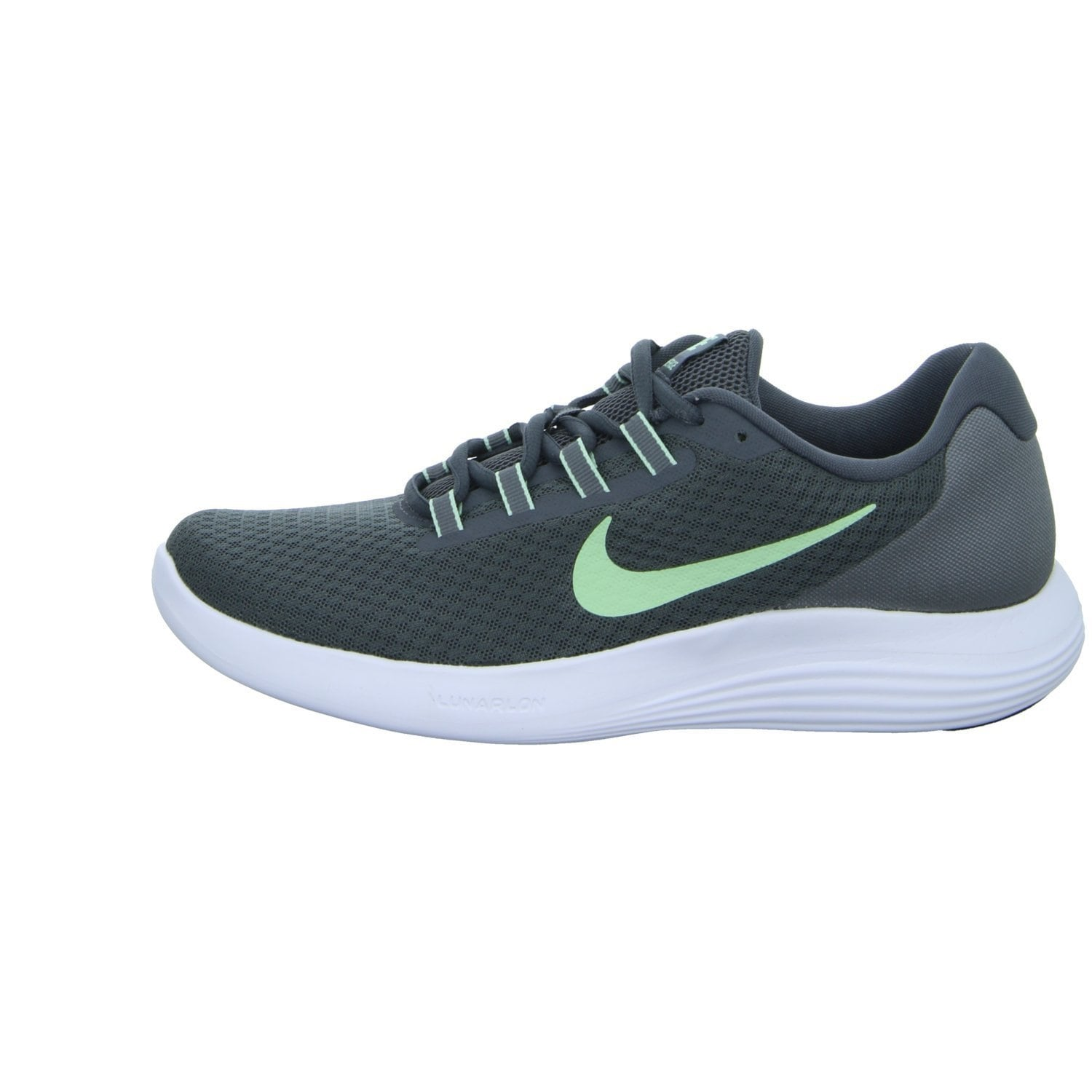 bbee72eacccdc7 Shop Nike Lunar Converge Dark Grey/Fresh Mint/Cool Grey/White Women's Shoes  - Free Shipping Today - Overstock - 18275664