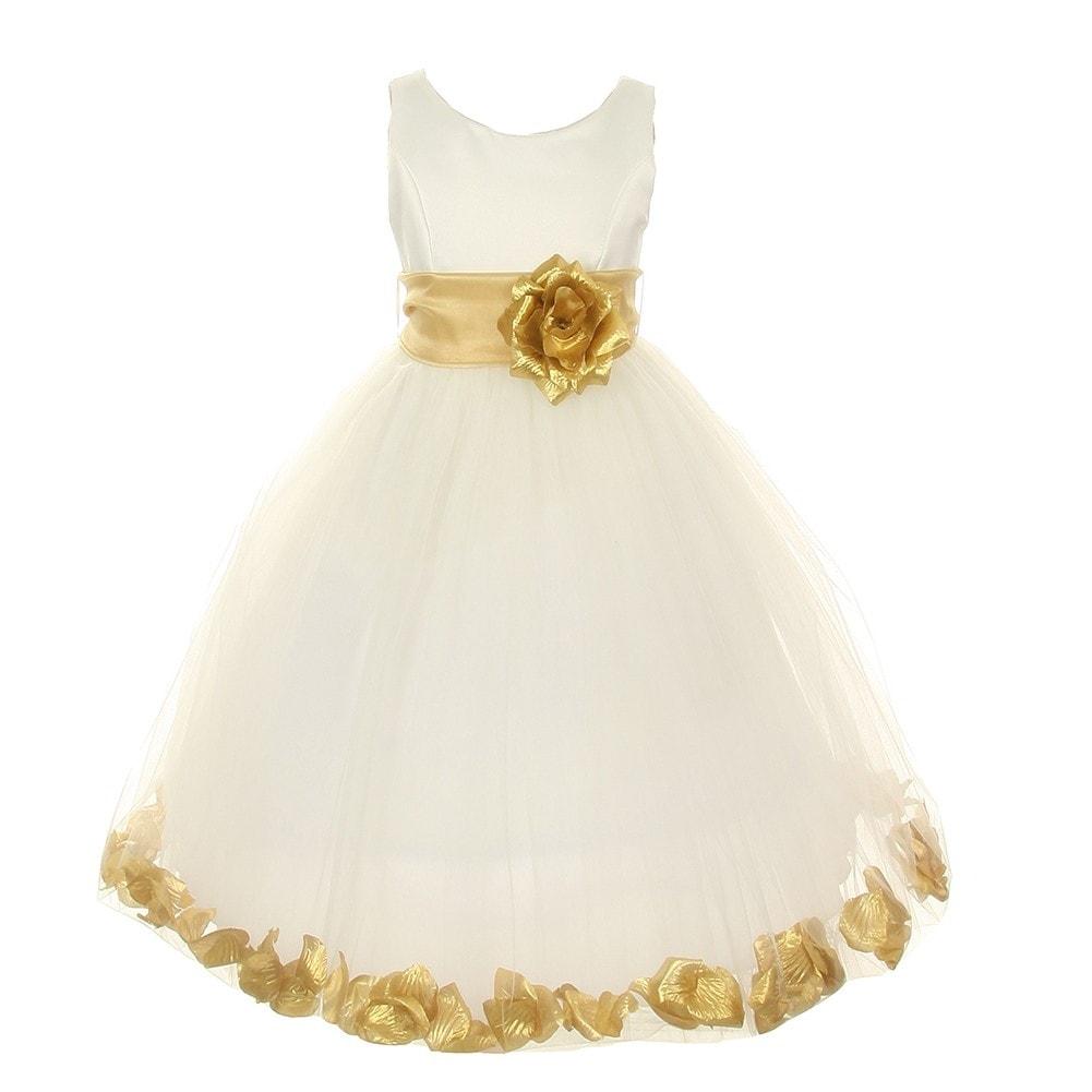36df1eec36e Ivory Cinderella Tulle Flower Girl Dress