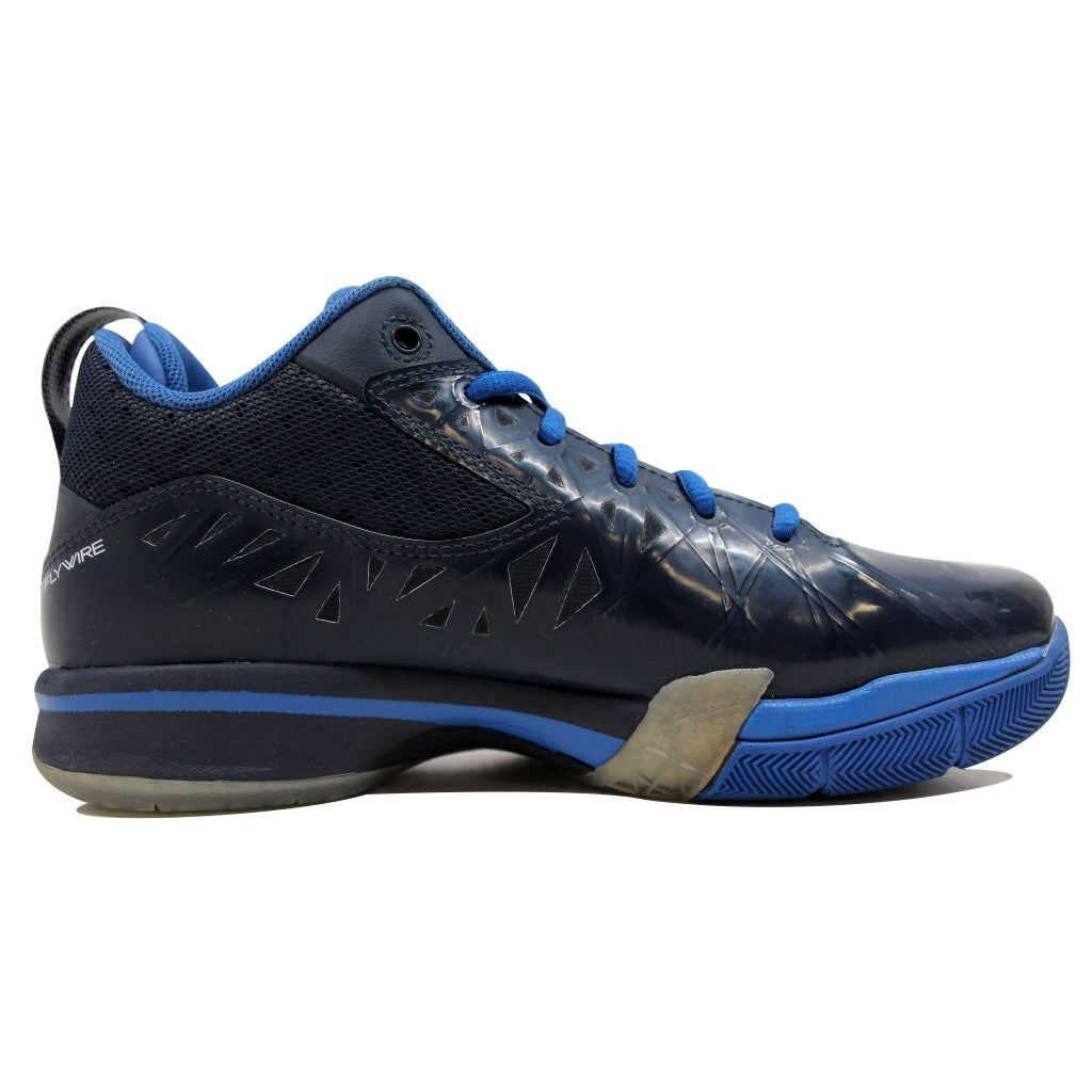 ec6494b3fe203a Shop Nike Men s Air Jordan CP3 V 5 Obsidian White-Game Royal 487428-400 - Free  Shipping Today - Overstock - 19507911