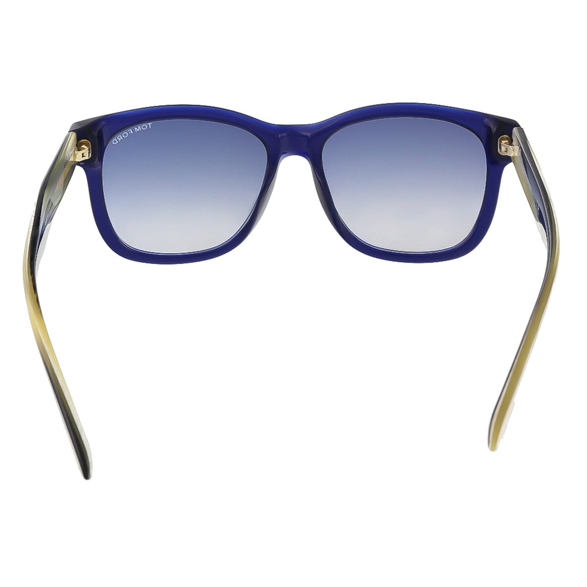59f60d58d8 Shop Tom Ford FT0395 S 89W Cooper Navy Blue Rectangle Sunglasses -  57-17-145 - Ships To Canada - Overstock - 13318306