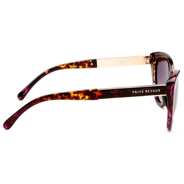 6c43830a62c02 Shop PRIVÉ REVAUX ICON Collection The Hepburn Handcrafted Designer Polarized  Cat-Eye Sunglasses - Free Shipping On Orders Over  45 - Overstock - 21682948