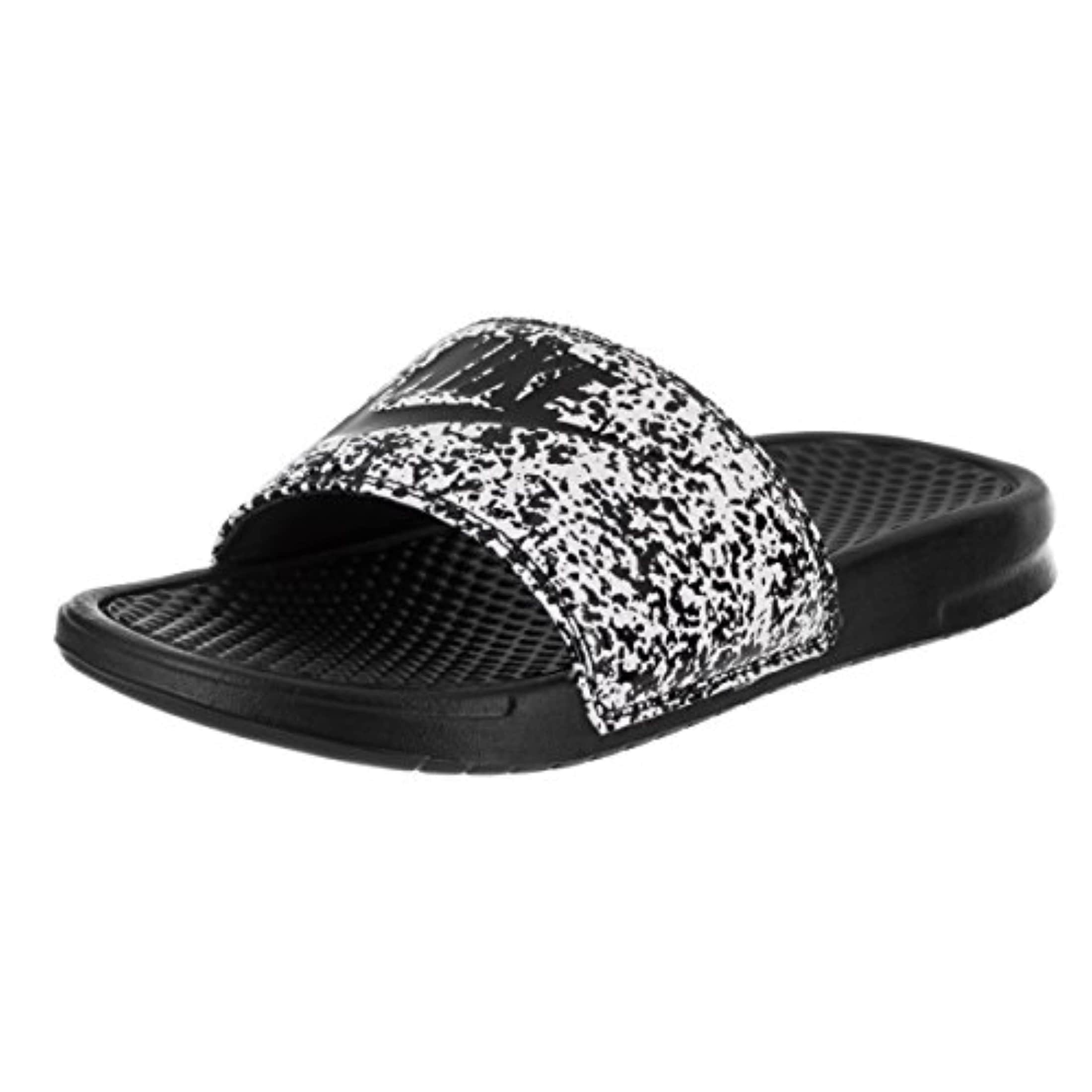 cheap for discount 9b6e5 6cb00 Shop Nike Benassi Just Do It Print Men s Slide White (10) - Free Shipping  On Orders Over  45 - Overstock - 26060565