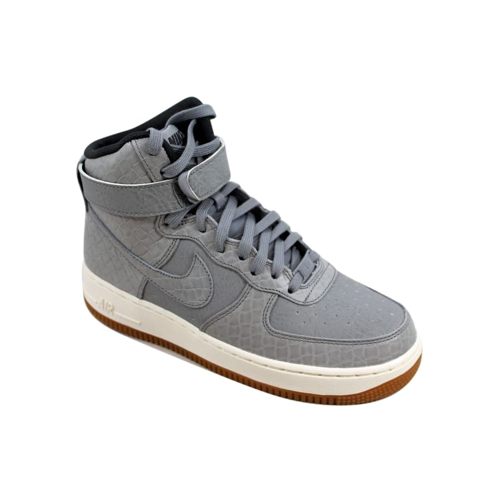 timeless design ed129 11873 Shop Nike Air Force 1 Hi Premium Wolf Grey Wolf Grey 654440-008 Women s -  On Sale - Free Shipping Today - Overstock - 26891971
