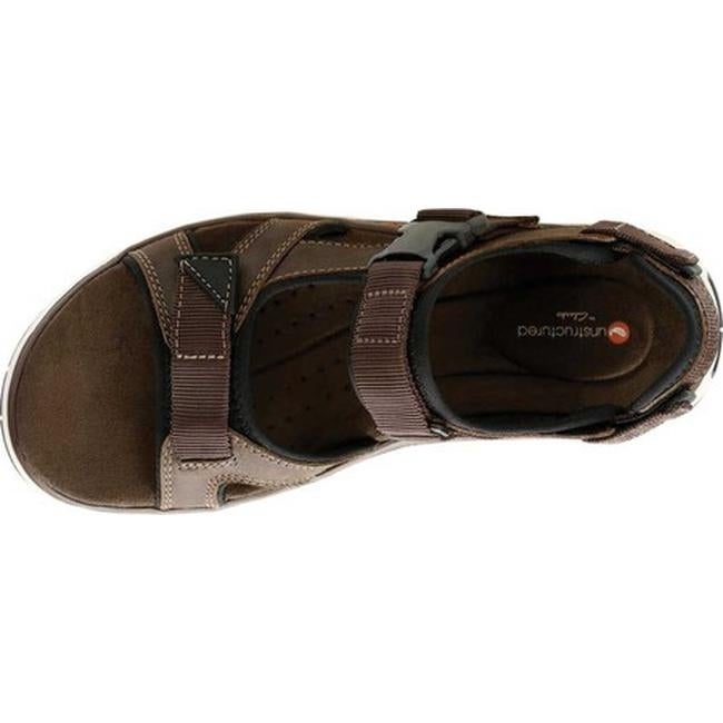 9770085553c5 Shop Clarks Men s Un Trek Bar Active Sandal Olive Nubuck Textile - Free  Shipping Today - Overstock - 25586815