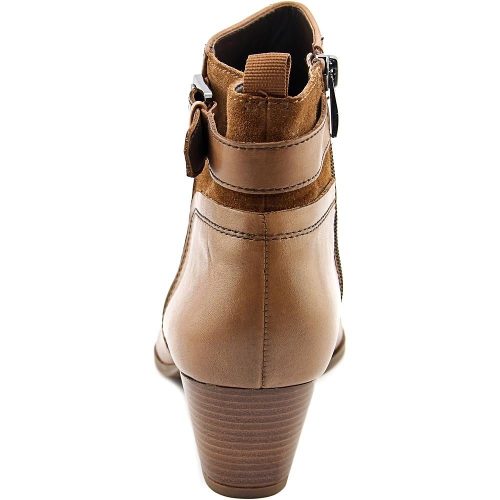 38bd49e2c934 Shop Franco Sarto Garda Women Round Toe Leather Brown Ankle Boot - Free  Shipping On Orders Over  45 - Overstock - 13562284