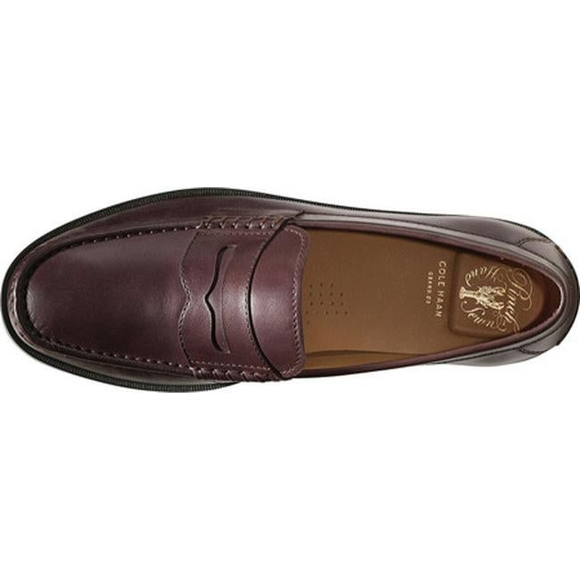b3ae485852b Shop Cole Haan Men s Pinch Friday Contemporary Loafer Chestnut Hand Stain  Leather - Free Shipping Today - Overstock - 14667325