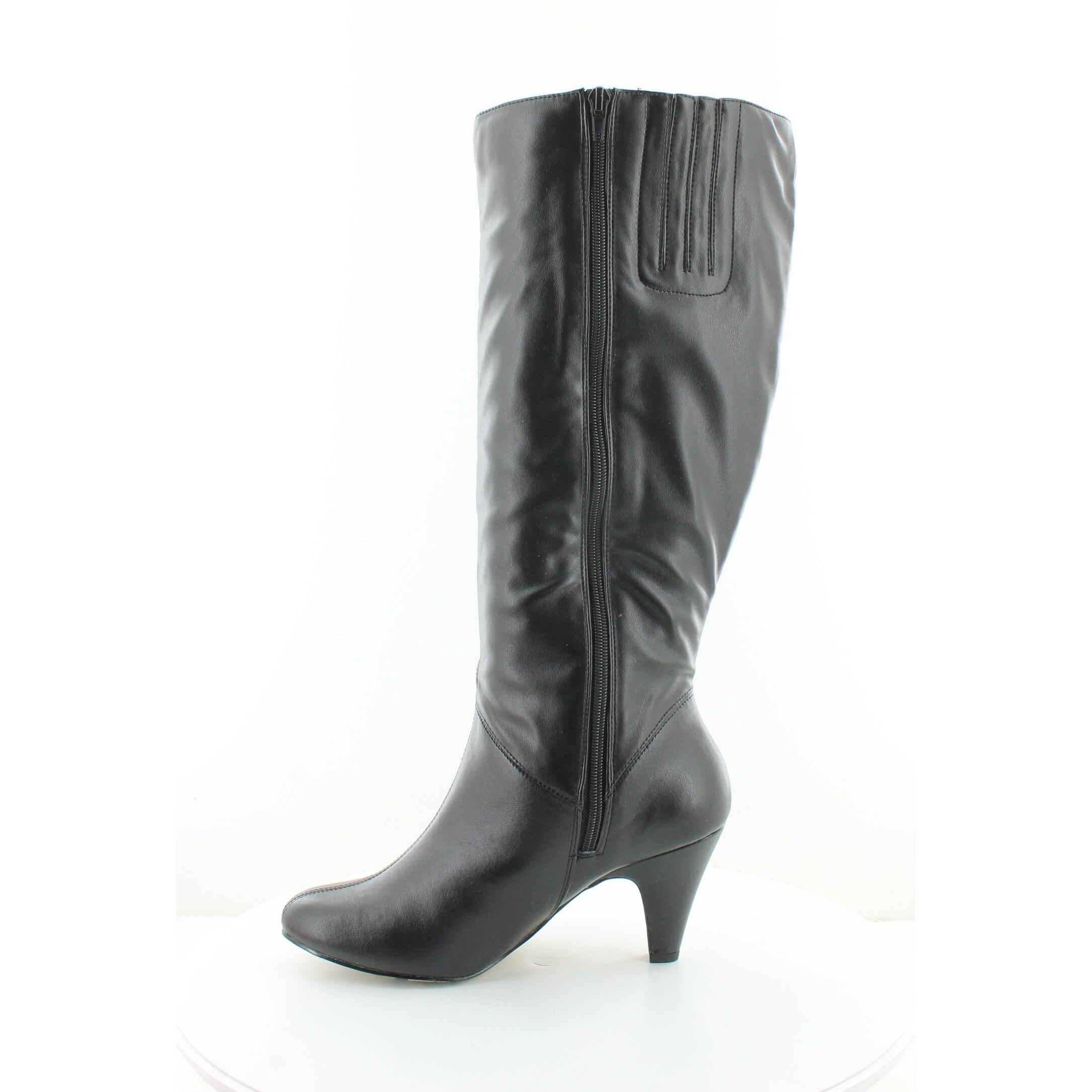 Bella Vita Womens Black Boots Transit Ii