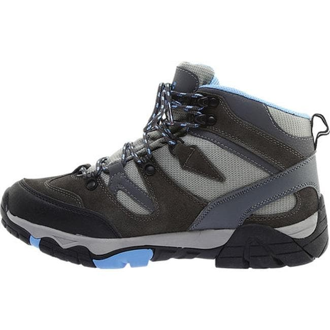 8a2ab20672f Bearpaw Women's Corsica Solids Waterproof Hiking Boot Charcoal Suede/Nylon