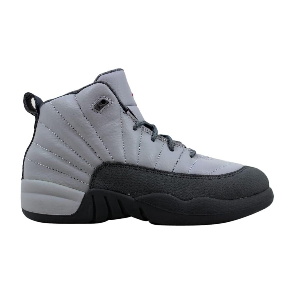 release date: cb71c dc123 Nike Pre-School Air Jordan XII 12 Retro GP Wolf Grey/Vivid Pink-Cool Grey  510816-029