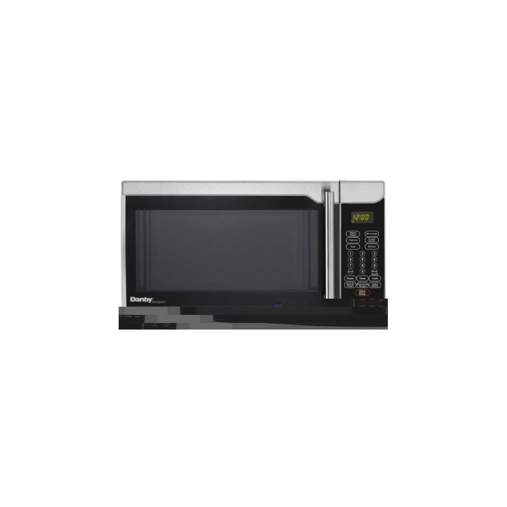 Danby Dmw07a2dd 18 Inch Wide 0 7 Cu Ft Capacity 700 Watt Countertop Microwave Stainless N A Free Shipping Today 20681845