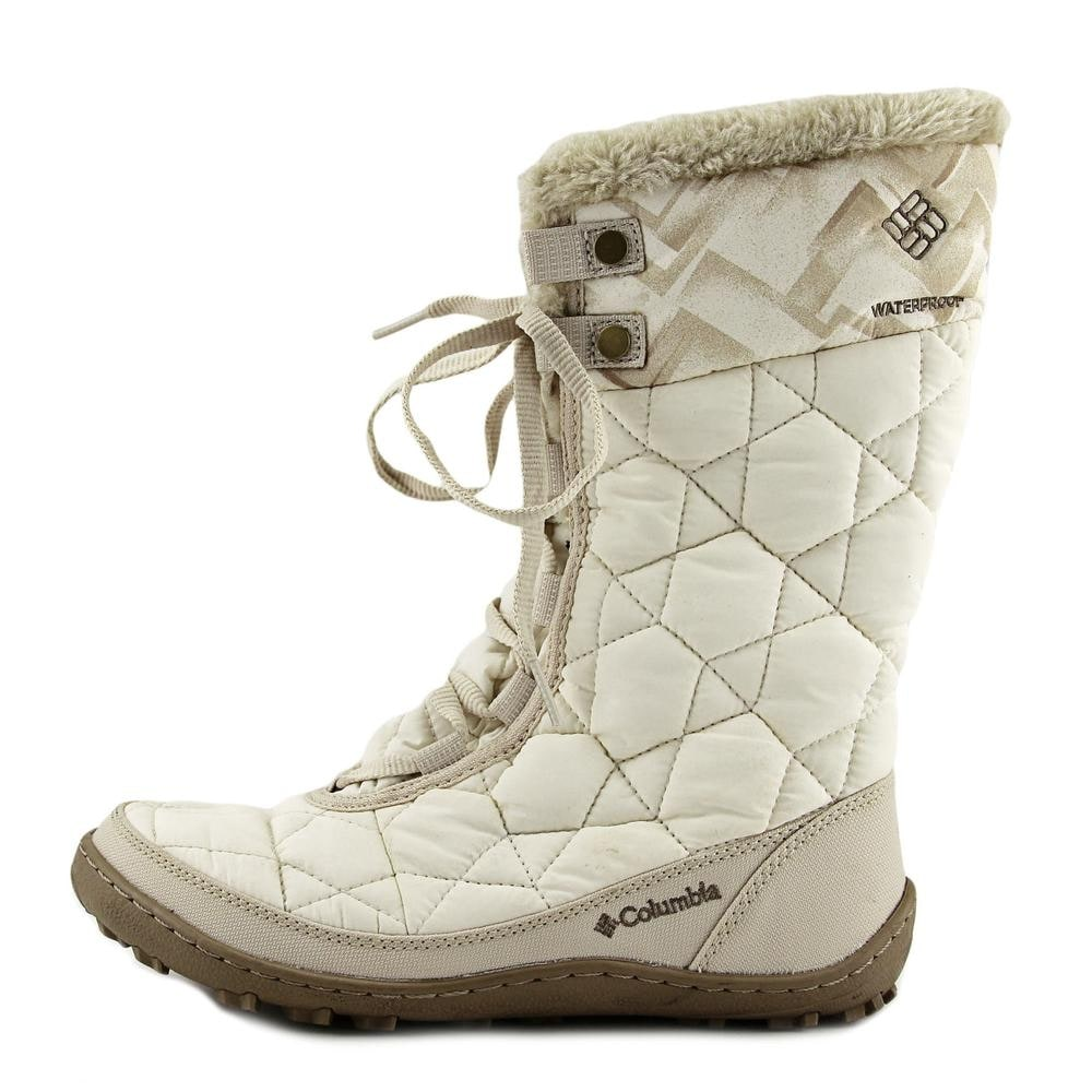 c7204c20bbc2 Shop Columbia Minx Mid II Omni-Heat Twill Round Toe Synthetic Winter Boot -  Free Shipping Today - Overstock - 16984956