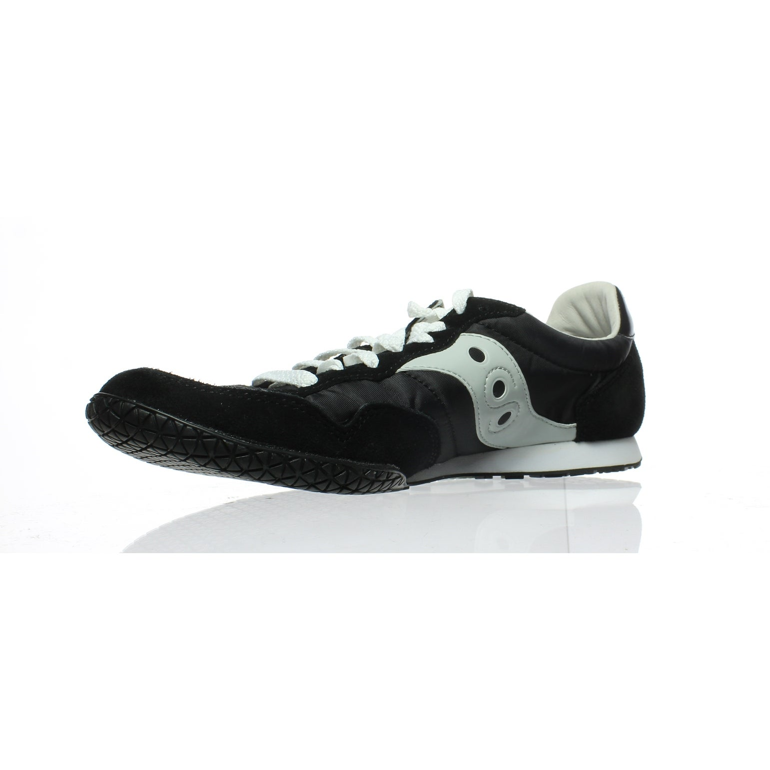 7f29a0400f39 Shop Saucony Mens Bullet-M Black Grey Fashion Sneaker Size 9.5 - Free  Shipping Today - Overstock - 25322556