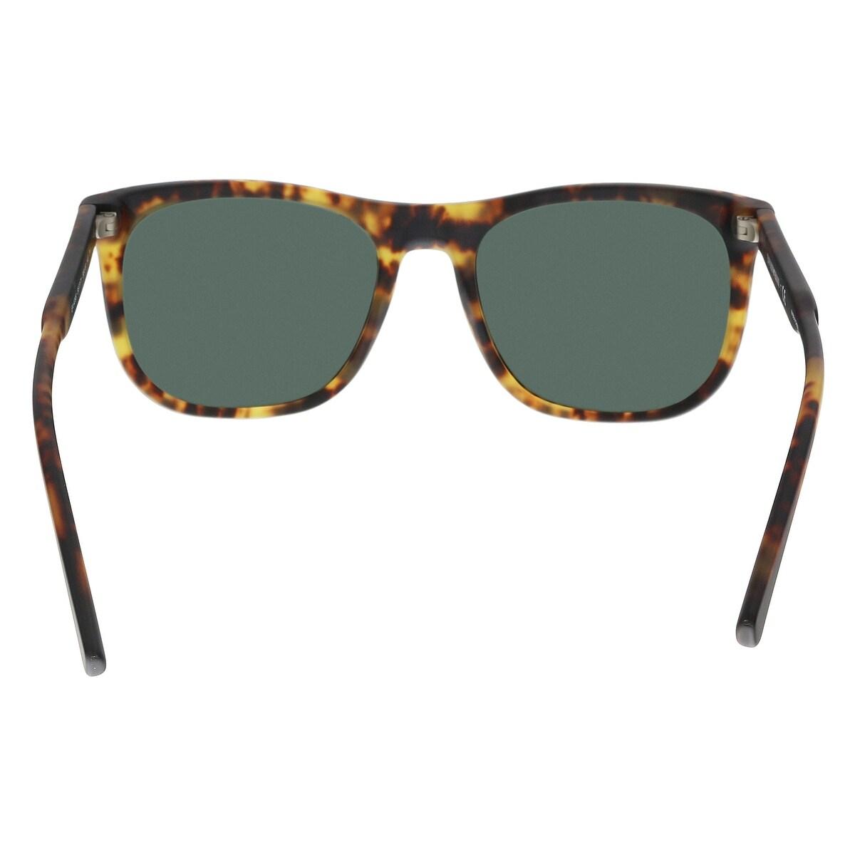 Emporio Armani EA4099 567771 Matte Blonde Havana Rectangle Sunglasses -  56-19-145 - Free Shipping Today - Overstock - 27088617 0ae6b8a0aa